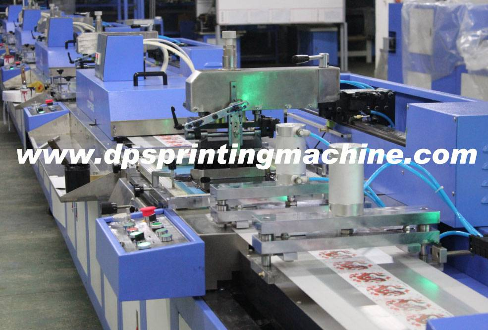 label ribbons automatic screen printing machine with CE