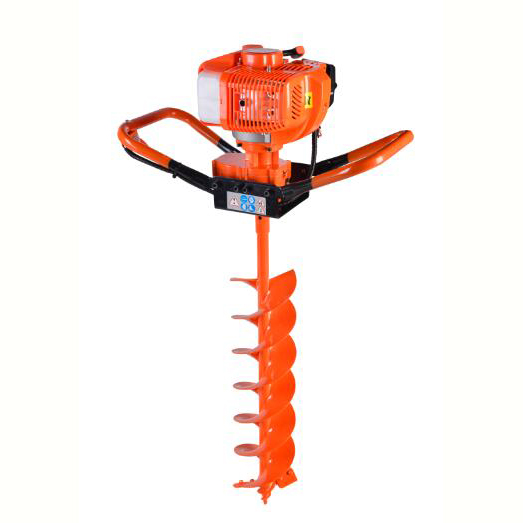 2/4 stroke cycle petrol post hole digger earth auger