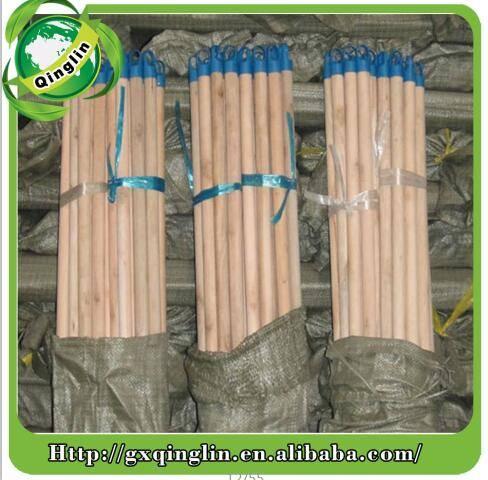 120*2.2cm Natural Eucalptus Wooden Broom Handle