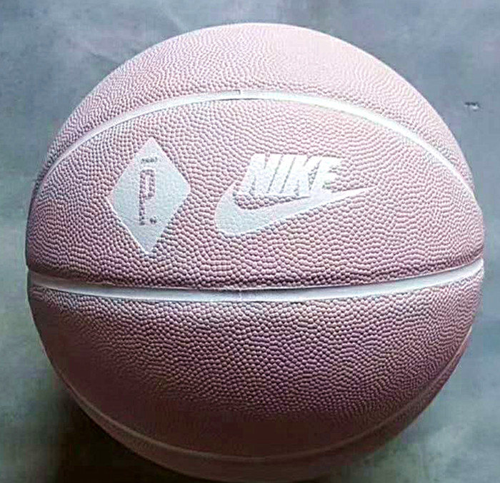 Brand Nike Baksetball official size7 basketball pink color for Christmas gifts
