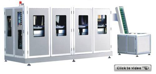 HZ-PP fully-automatic stretch blow molding machine
