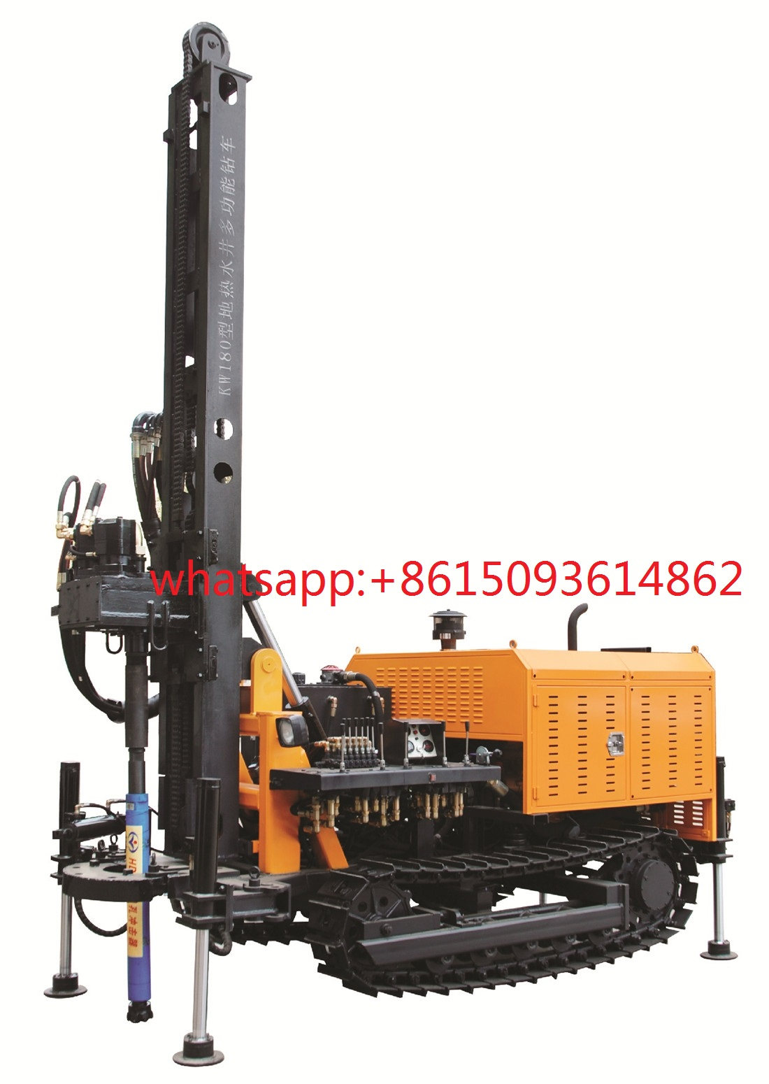 KW180 water well drilling rig