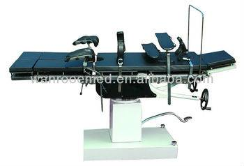 head controlled hydraulic operating theatre table