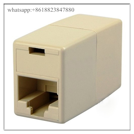 RJ45 for CAT5 Ethernet Cable LAN Port 1 to 2 Socket Splitter Connector Adapter Hot Worldwide Promoti