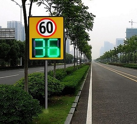 Digital Traffic Signs LED Radar Speed Sign