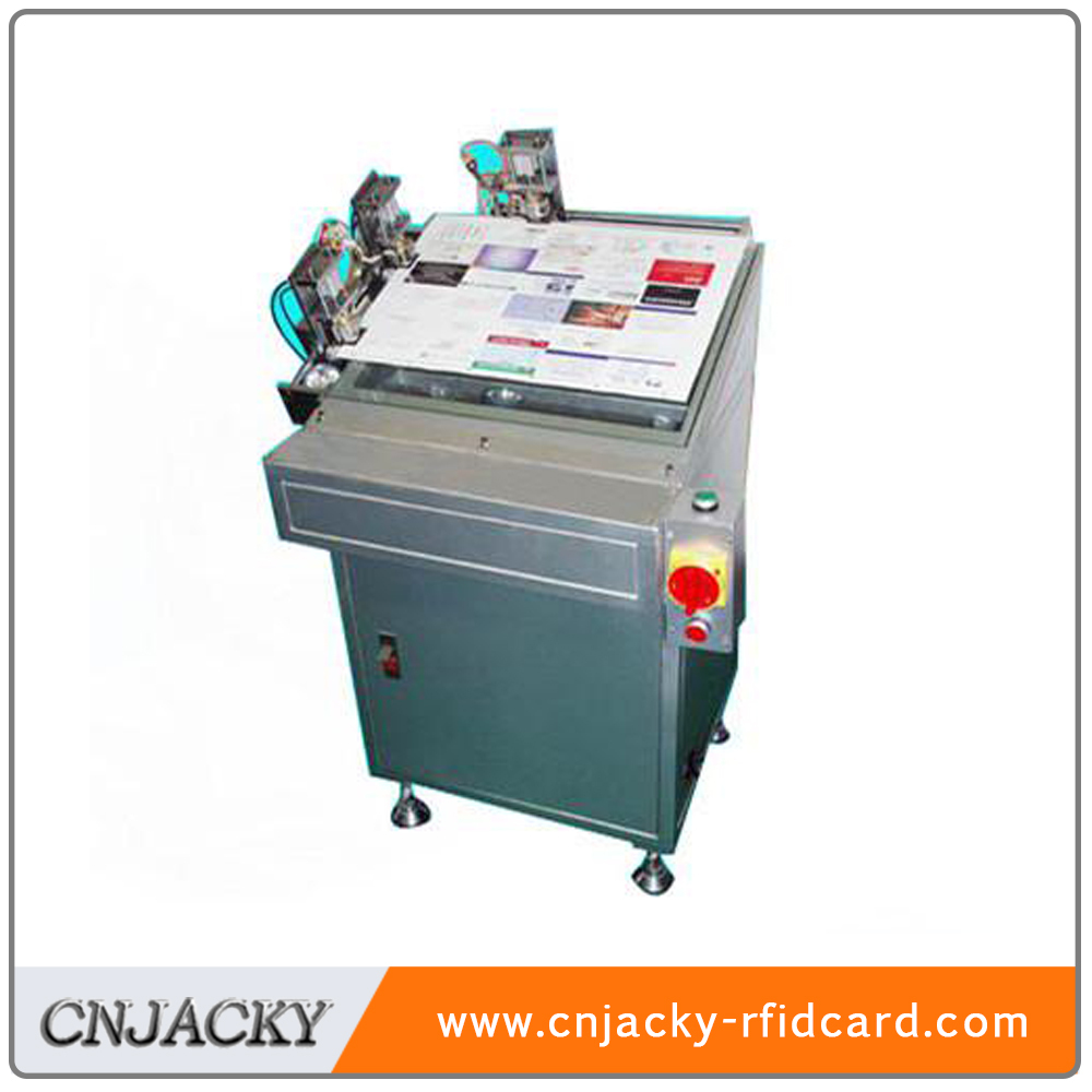 DH400 PVC Card sheet Collating positioning machine made in China