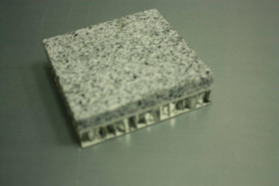 Granite Marble Laminated with Aluminum Honey Comb