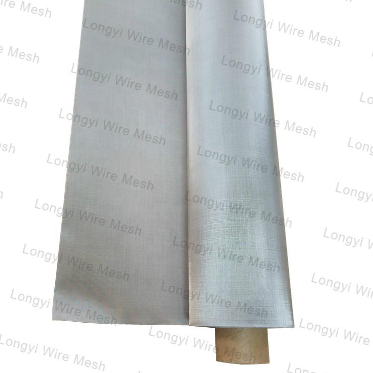 High melting point 3500 heat element molybdenum wire mesh screen