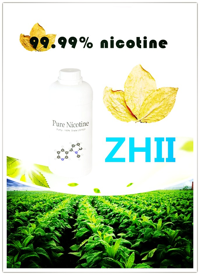 Nicotine Is Used for Electronic Cigarette Smoke Oil.