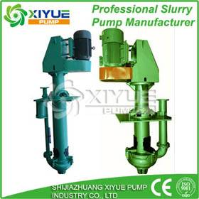 vertical electric submersible sand slurry pumps