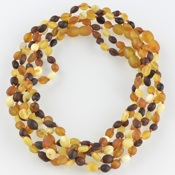 Amber Teething Baby Necklace