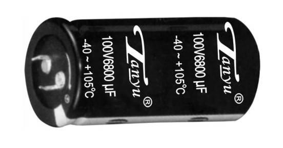 CD296 aluminum electrolytic capacitor