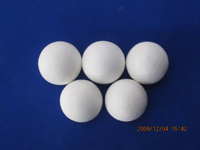 Refractory ceramic balls