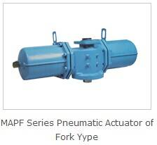 Valve Pneumatic Actuator of Fork Type