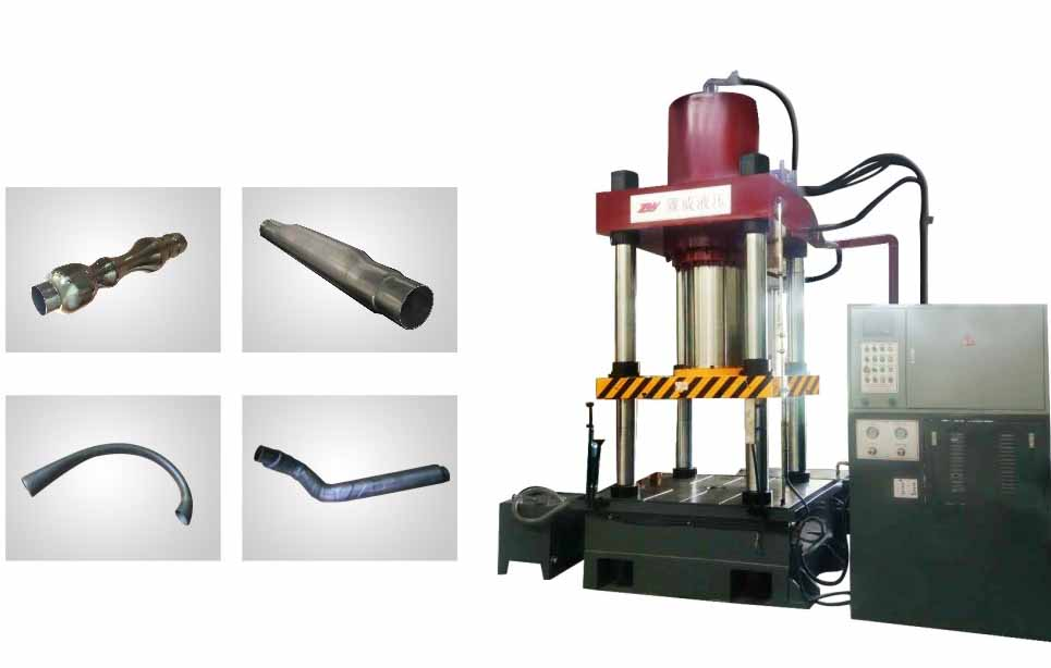 hydraulic water expand bulging machine press