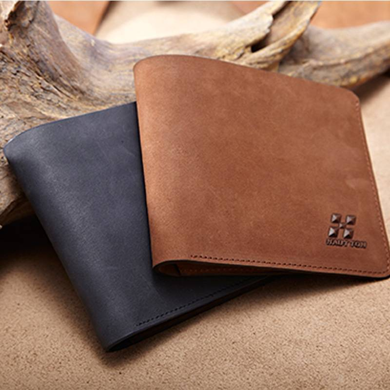 qb70 men leather wallet