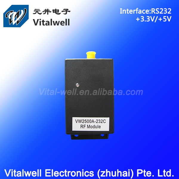 VW2500A 2.4GHz rs232 rf smart home relay transceiver module