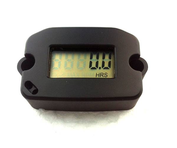 RL-HM022 Digital Gasoline Engine Tacho Hour Meter Motorcycle Jet Ski Tachometer Hour Meter RPM 1-2-4