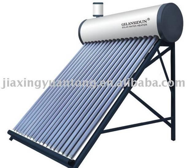 Pre-heated solar water heater (non-pressure)