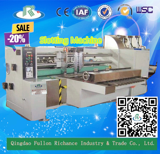 1 Series Automatic Corrugated Carton Paper Box Slotting Machine