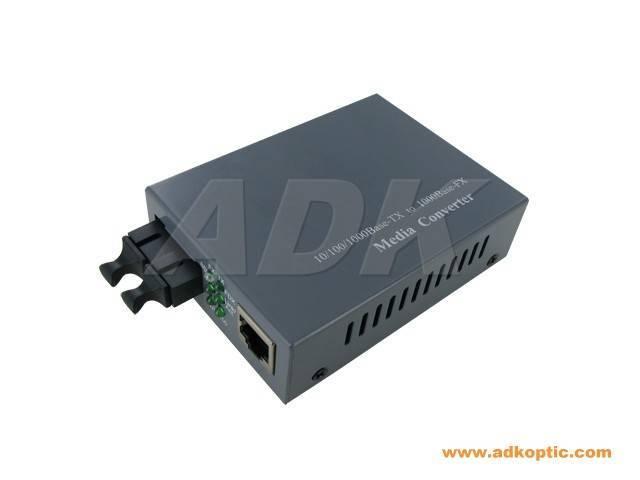 100/1000M Single Mode Fiber Media Converter