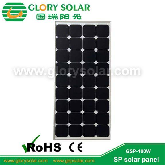 100w sp solar panel for RV,Golf car,Electric car,Yacht,boat,marine,tent ect