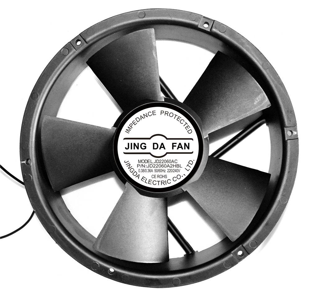 AC Cooling Fan 220X220X60mm Round (JD22060AC)