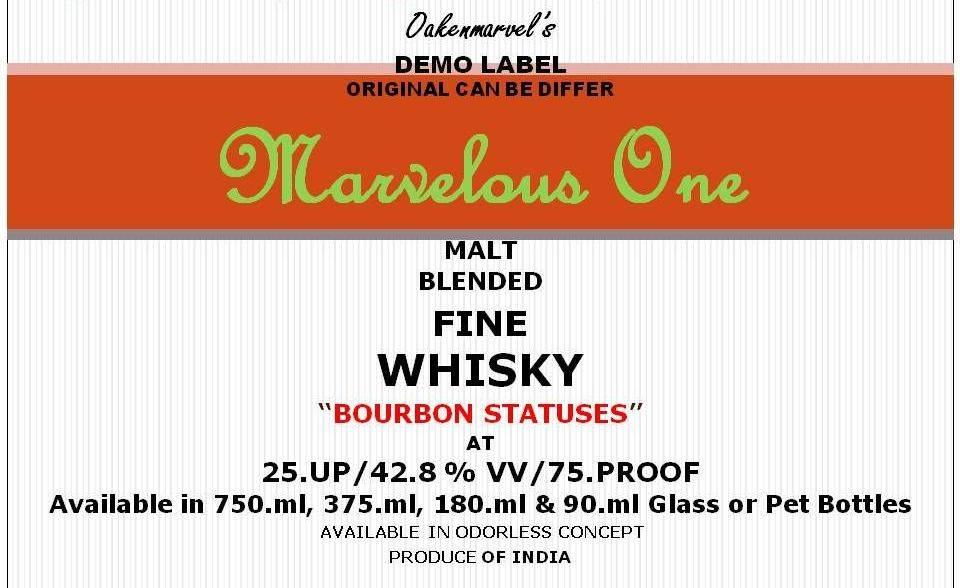 Blended Whiskey (Malt Blended/Bourbon Statuses)