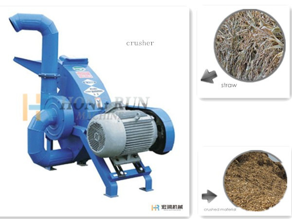 The Application Of Agricultural Stalks Crusher