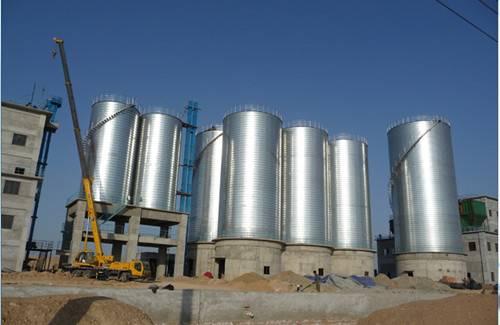 chemicals storage silo