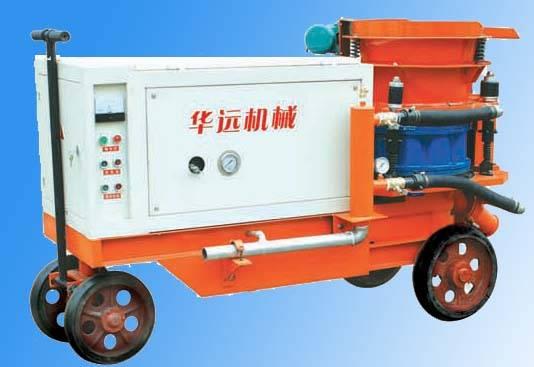 HSP-5 series wet-mix concrete shotcrete machine,wet shotcreting machine