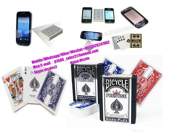 Bicycle Prestige Dura Flex Marked Poker Cards Red And Blue Poker Cheat Cards