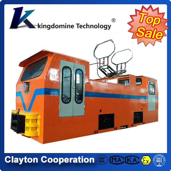 7 Ton flameproof mine electric trolley locomotive