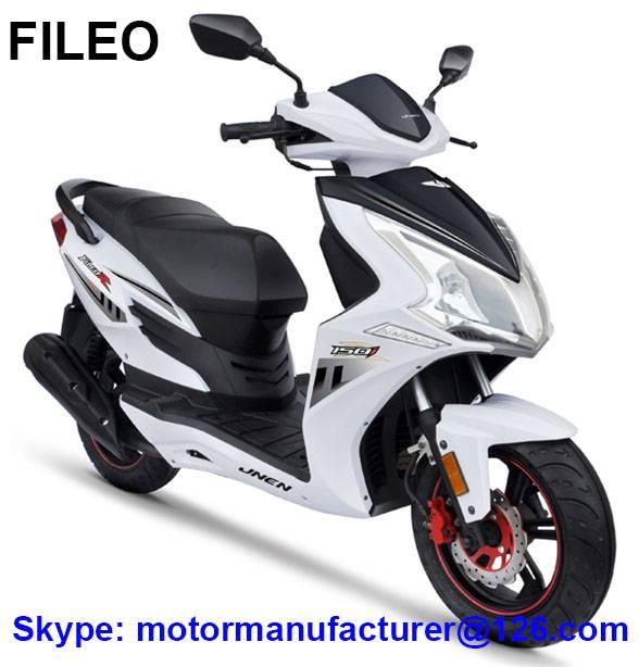 FILEO Scooter JNEN Motor Popular Design 2016 Model Gasoline Scooter 50CC/150CC CDI/EFI EEC/EPA