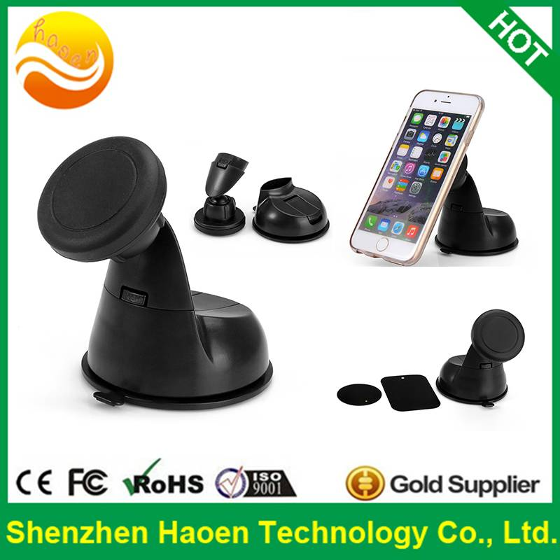 Hot selling car dashboard windshield Magnetic Mount Holder for iPhone 6s Plus