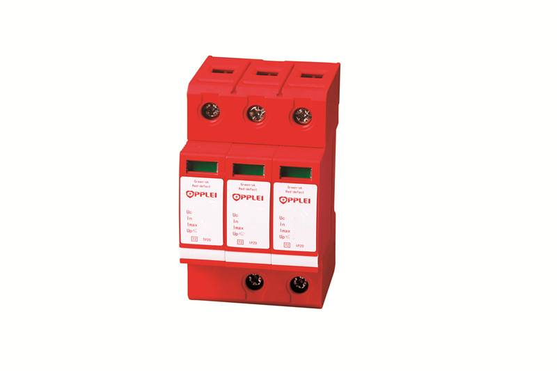 DC power surge protector for photovoltaic system
