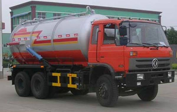 Sewage Vacuum Suction Truck
