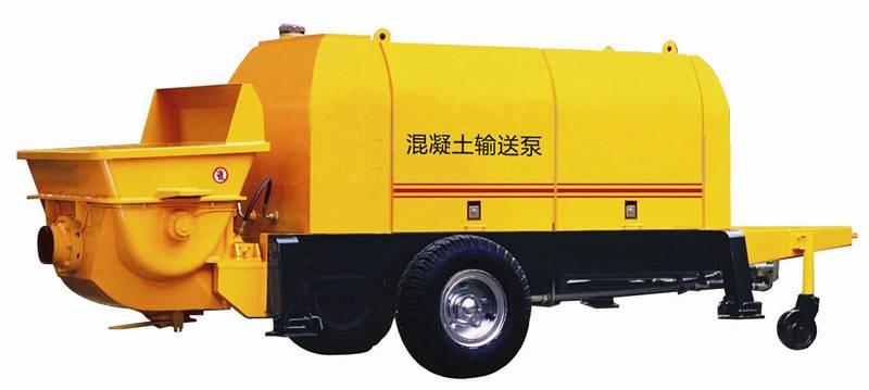 Electric Engine Concrete Pump Hbt50a-10-55es