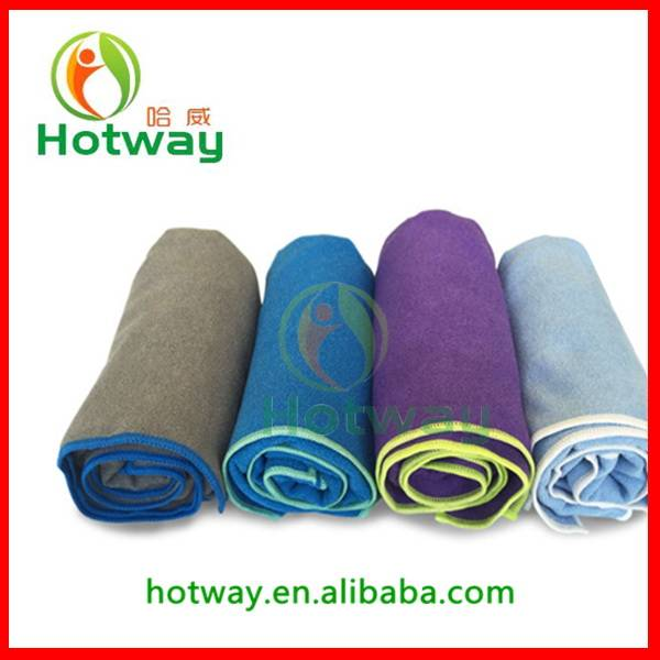 2015 New Coming Fitness Yoga Towel Super-absorbent and Quick Dry Manduka Yoga Mat Towel