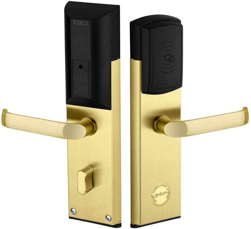 Mifare card hotel lock.