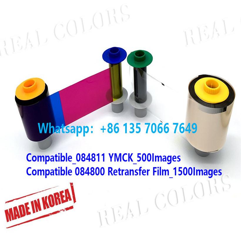 Compatible 84811 YMCK & 84800 Retransfer Film HDP8500