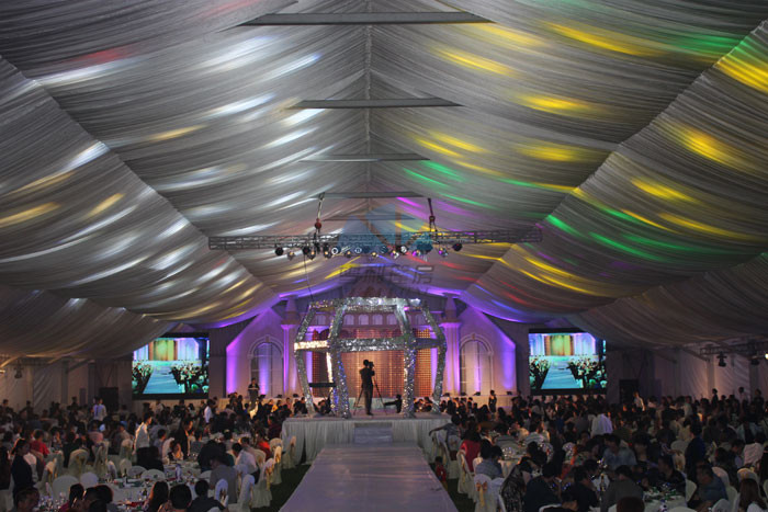 china wedding tent