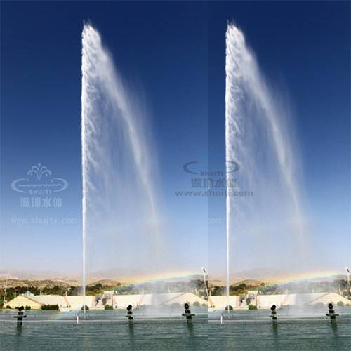 High Jet Fountain, Water Fountain, Music Dancing Fountain