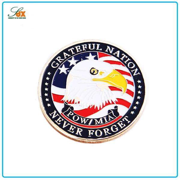 Factory Price Custom USA Military Challenge Coins