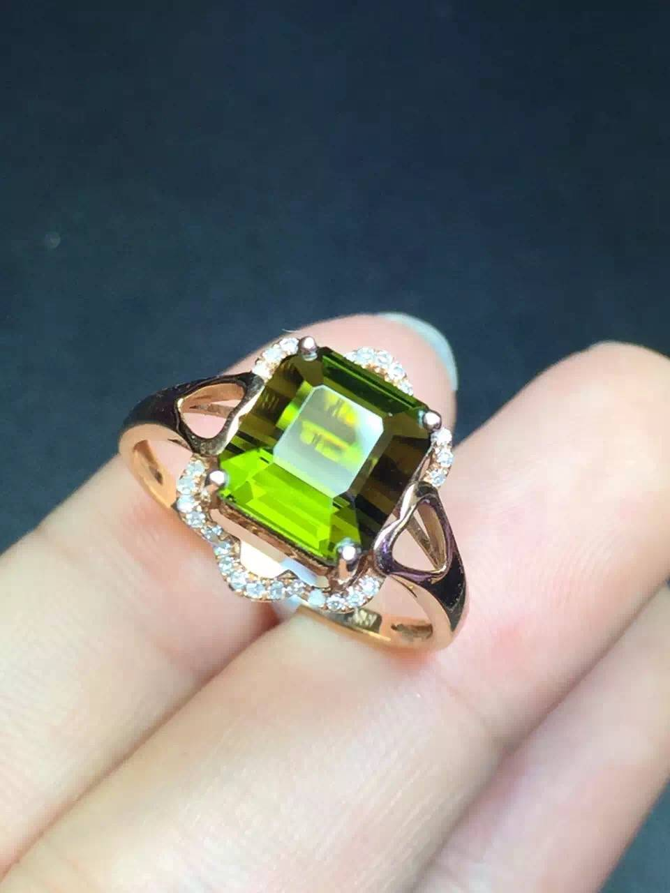 Neffly ring with charming tourmalinel