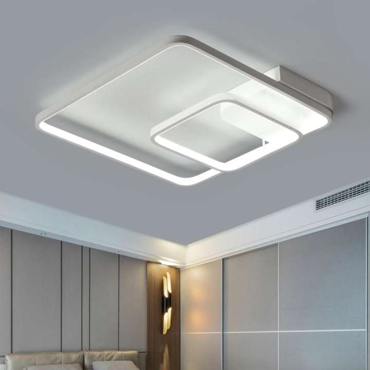 Modern LED Ceiling Light Living Room Lighting Fixture Lamp Bedroom Bathroom with Remote Control
