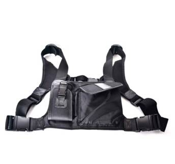 Best Black Walkie Talkie Soft Case For Handheld Radio BAOFENG/ZASTONE/HYT/TYT two way radio carry ca