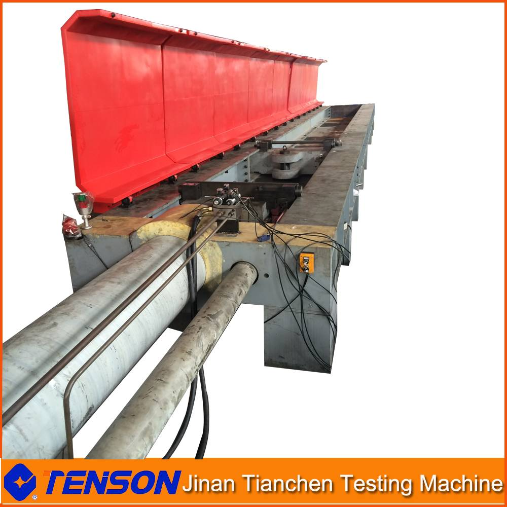 Webbing Sling Tension Testing Machine Electro-hydraulic Horizontal Testing Machine 200Ton+20Ton