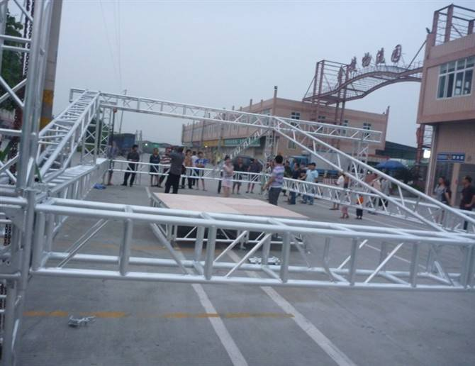 Tourgo roof  truss roof system