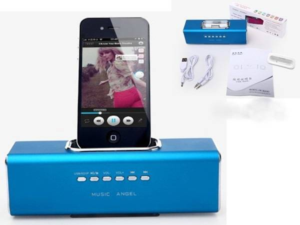 USB TF docking speaker android dock android speaker new gadgets 2014